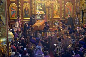 Святое Белогорье обрело мощи своего архипастыря - священномученика Никодима (Кононова), епископа Белгородского